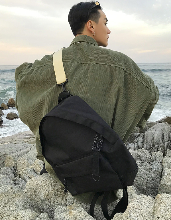 No.7589 backpack & cross BAG