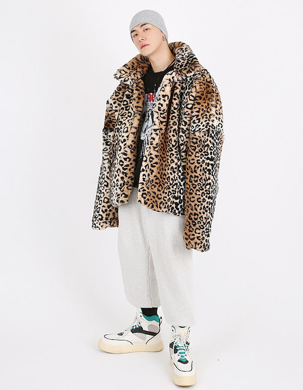 No.7519 15mm leopard fur JK