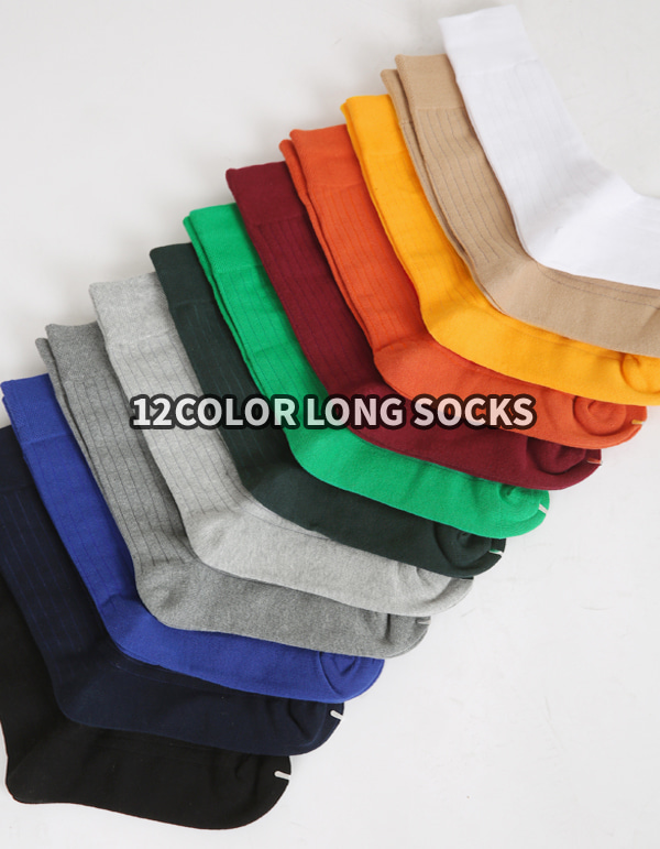 No.7670 12color long SOCKS