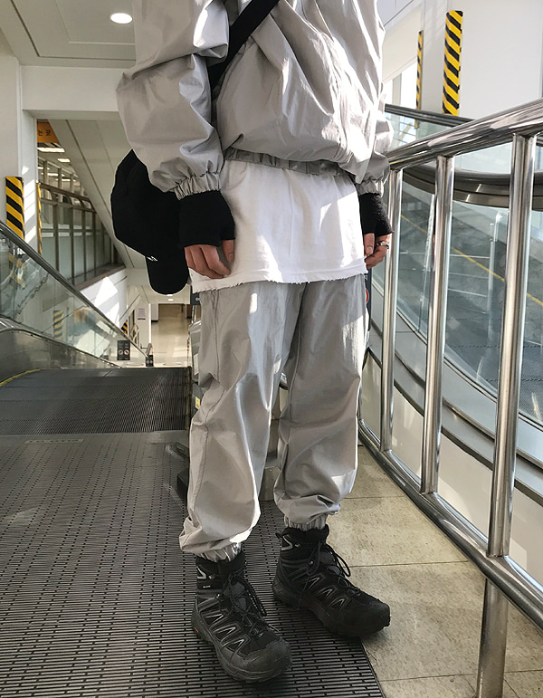 No.7870 windbreaker set-up jogger PT