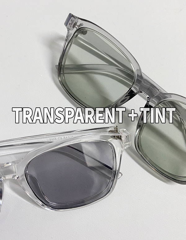 No.8101 translucent  sunglass
